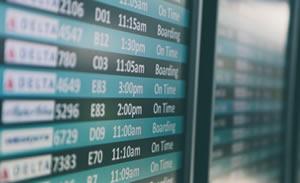 Billeje i lufthavn